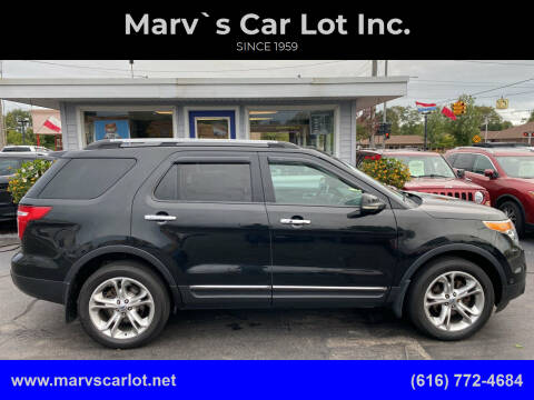 2011 Ford Explorer for sale at Marv`s Car Lot Inc. in Zeeland MI