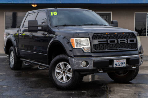 2010 Ford F-150 for sale at AUTO NATIX in Tulare CA