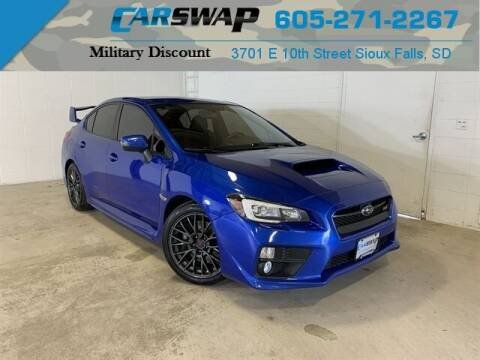 2016 Subaru WRX for sale at CarSwap in Sioux Falls SD