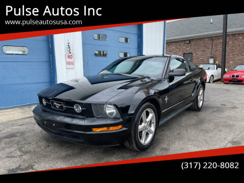 2008 Ford Mustang for sale at Pulse Autos Inc in Indianapolis IN