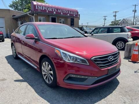 2015 Hyundai Sonata for sale at Imports Auto Sales Inc. in Paterson NJ