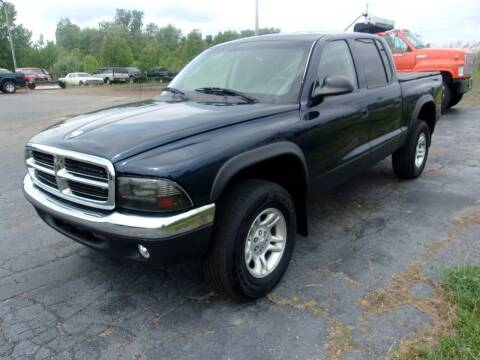 2002 Dodge Dakota for sale at DAVE KNAPP USED CARS in Lapeer MI