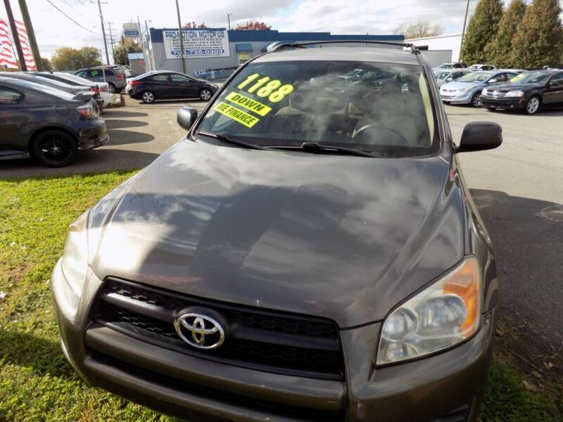 2010 Toyota RAV4 for sale at Pro-Motion Motor Co in Lincolnton NC