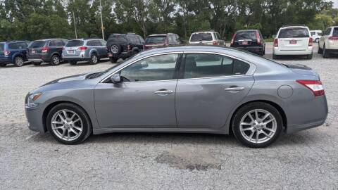 2009 Nissan Maxima for sale at Sarpy County Motors in Springfield NE