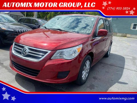 2012 Volkswagen Routan for sale at AUTOMIX MOTOR GROUP, LLC in Swansea MA