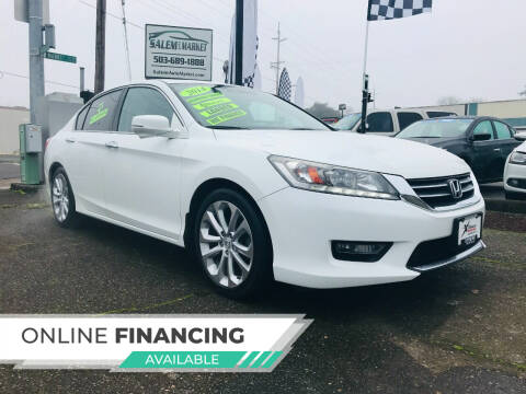 2014 Honda Accord for sale at Salem Auto Market in Salem OR