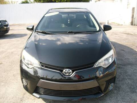 2016 Toyota Corolla for sale at SUPERAUTO AUTO SALES INC in Hialeah FL