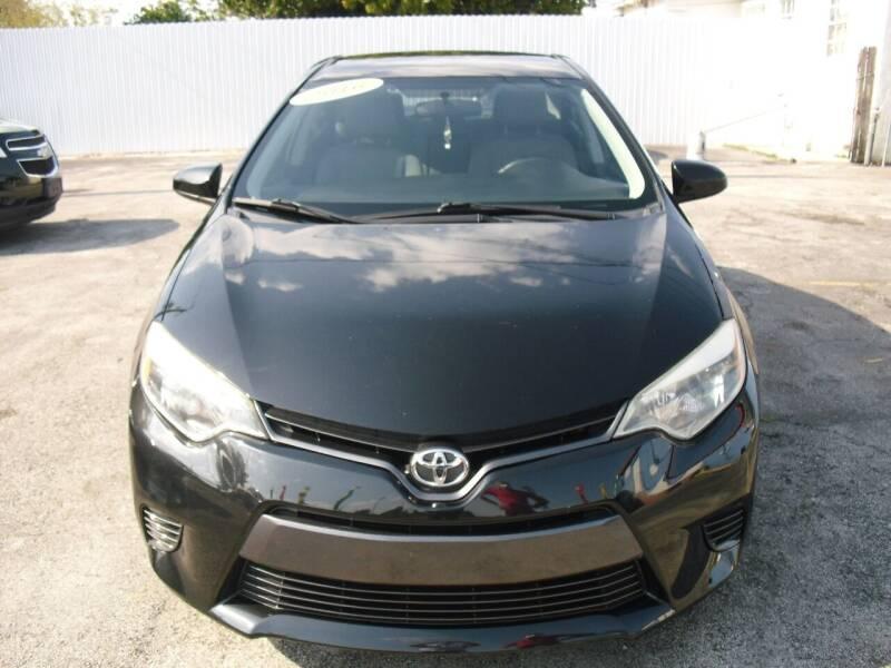 2016 Toyota Corolla for sale at SUPERAUTO AUTO SALES INC in Hialeah FL