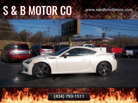 2013 Subaru BRZ for sale at S & B MOTOR CO in Danville VA