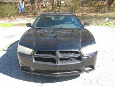 2011 Dodge Charger for sale at LAKE CITY AUTO SALES in Forest Park GA