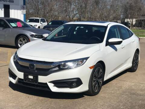 2017 Honda Civic for sale at Discount Auto Company in Houston TX