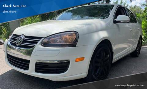 2005 Volkswagen Jetta for sale at CHECK  AUTO INC. in Tampa FL