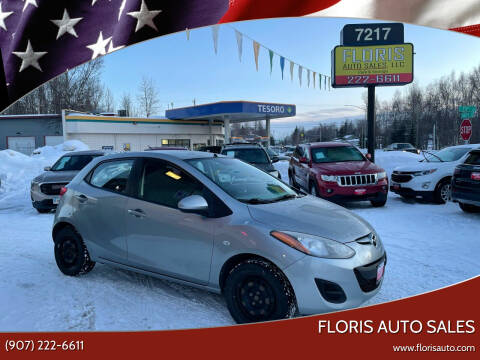 2012 Mazda MAZDA2 for sale at FLORIS AUTO SALES in Anchorage AK