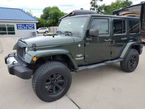 2011 Jeep Wrangler Unlimited for sale at Kell Auto Sales, Inc - Grace Street in Wichita Falls TX