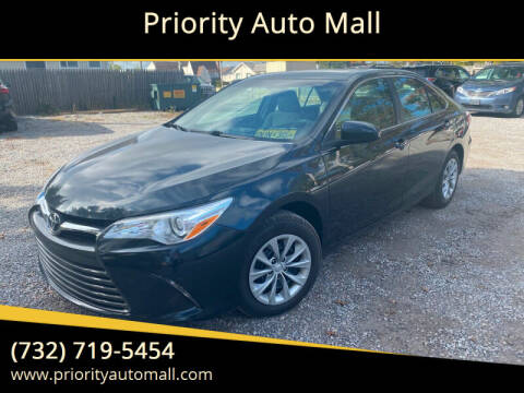 2016 Toyota Camry for sale at Mr. Minivans Auto Sales - Priority Auto Mall in Lakewood NJ