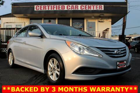 2014 Hyundai Sonata for sale at CERTIFIED CAR CENTER in Fairfax VA