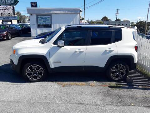 2018 Jeep Renegade for sale at Automotive Fleet Sales in Lemoyne PA