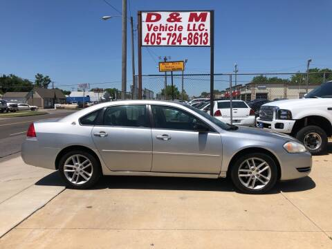 2006 Chevrolet Impala for sale at D & M Vehicle LLC in Oklahoma City OK