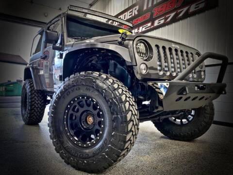 2017 Jeep Wrangler for sale at Carder Motors Inc in Bridgeport WV
