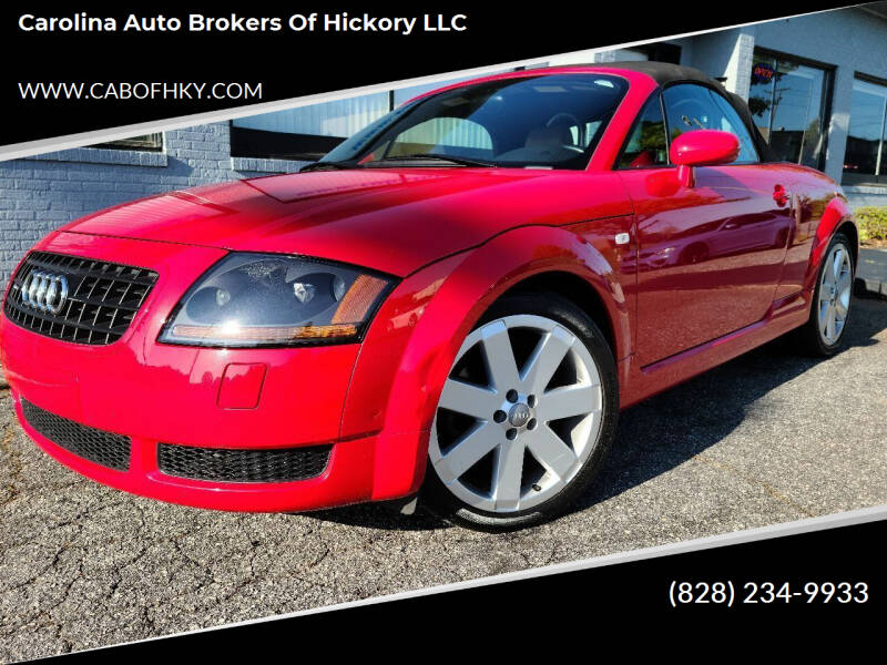 2003 Audi TT for sale at Carolina Auto Brokers of Hickory LLC in Newton NC