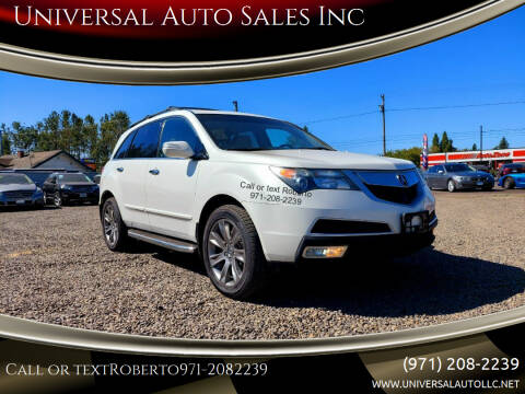 2010 Acura MDX for sale at Universal Auto Sales Inc in Salem OR