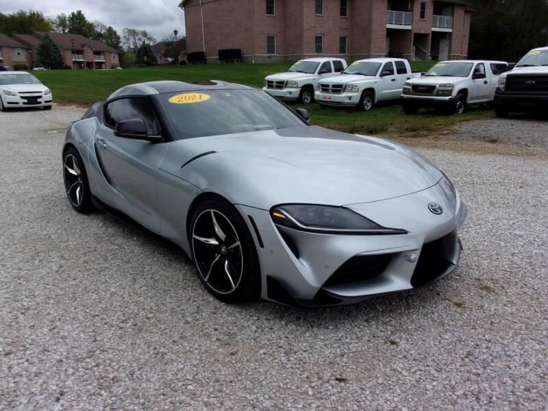 2021 Toyota GR Supra for sale at BABCOCK MOTORS INC in Orleans IN