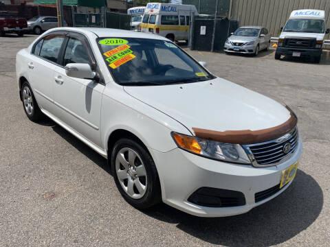 2010 Kia Optima for sale at Adams Street Motor Company LLC in Dorchester MA