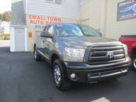 2013 Toyota Tundra for sale at Small Town Auto Sales in Hazleton PA