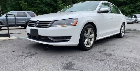 2012 Volkswagen Passat for sale at Mikes Auto Center INC. in Poughkeepsie NY