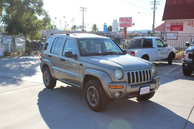 2004 Jeep Liberty for sale at Car 1234 inc in El Cajon CA