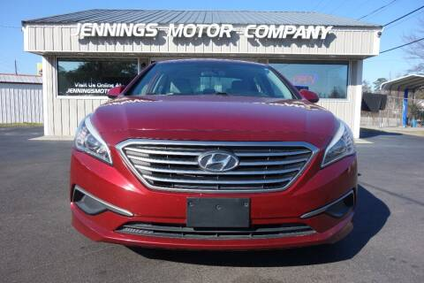 2016 Hyundai Sonata for sale at Jennings Motor Company in West Columbia SC