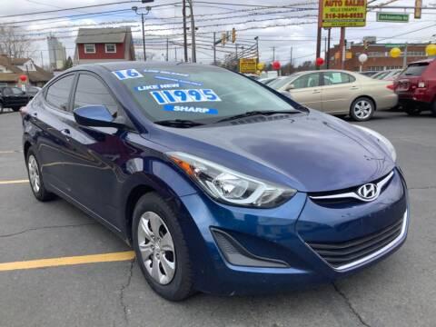 2016 Hyundai Elantra for sale at Active Auto Sales in Hatboro PA