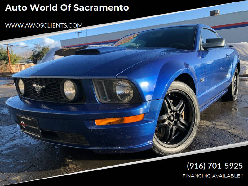 2007 Ford Mustang for sale at Auto World of Sacramento Stockton Blvd in Sacramento CA