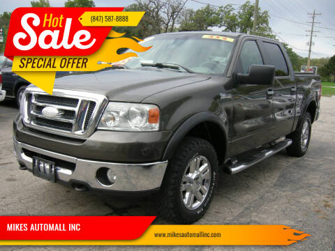 2008 Ford F-150 for sale at MIKES AUTOMALL INC in Ingleside IL