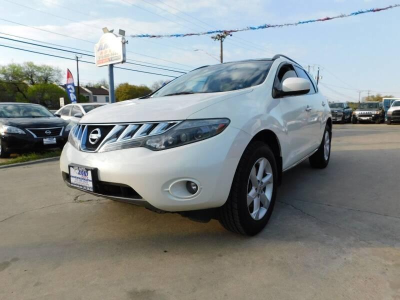 2009 Nissan Murano for sale at AMD AUTO in San Antonio TX
