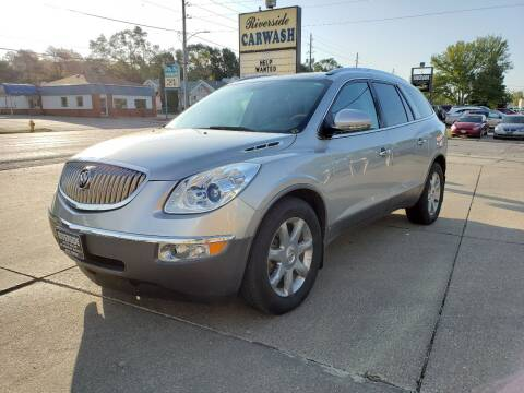 2008 Buick Enclave for sale at RIVERSIDE AUTO SALES in Sioux City IA