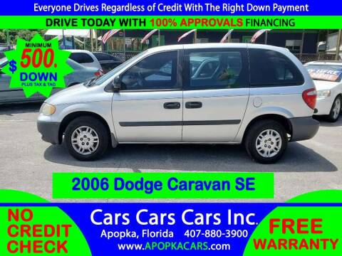 2006 Dodge Caravan for sale at CARS CARS CARS INC in Apopka FL