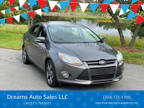2013 Ford Focus for sale at Dreams Auto Sales LLC in Leesburg VA