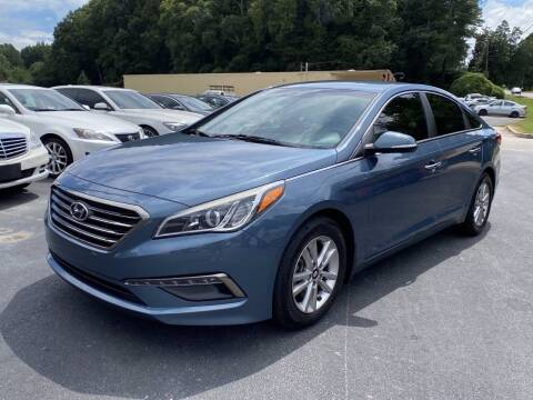 2015 Hyundai Sonata for sale at Luxury Auto Innovations in Flowery Branch GA