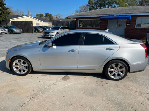 2014 Cadillac ATS for sale at LAURINBURG AUTO SALES in Laurinburg NC