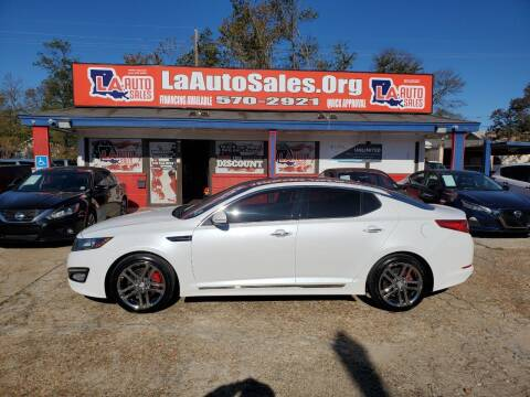 2013 Kia Optima for sale at LA Auto Sales in Monroe LA