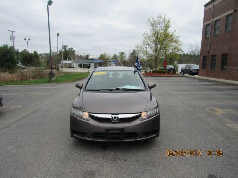 2010 Honda Civic for sale at Heritage Truck and Auto Inc. in Londonderry NH