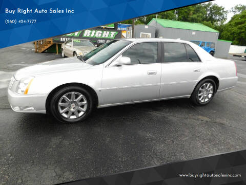 2010 Cadillac DTS for sale at Buy Right Auto Sales Inc in Fort Wayne IN