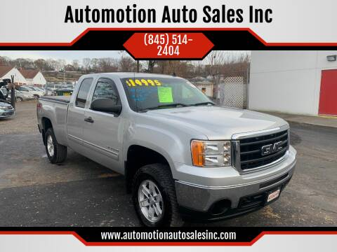 2010 GMC Sierra 1500 for sale at Automotion Auto Sales Inc in Kingston NY