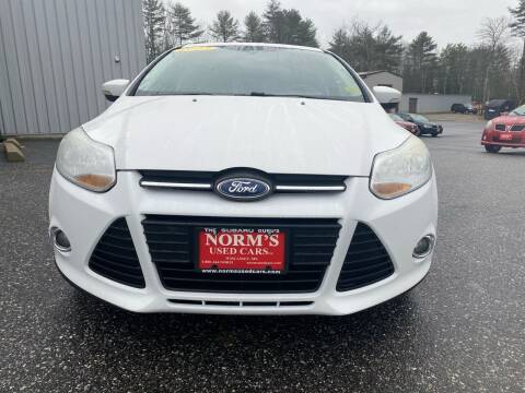 2013 Ford Focus for sale at Norm's Used Cars INC. in Wiscasset ME