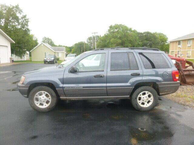 2001 Jeep Grand Cherokee for sale at JIM WOESTE AUTO SALES & SVC in Long Prairie MN