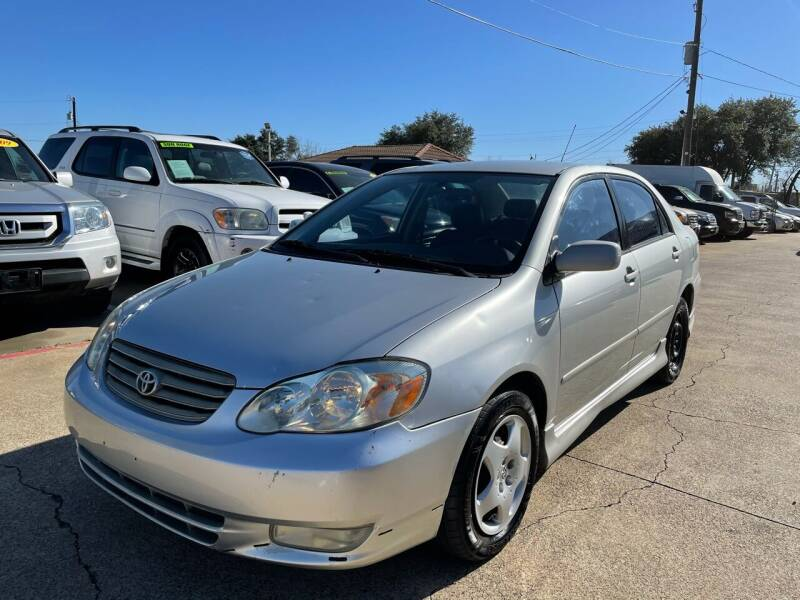 2003 Toyota Corolla for sale at CityWide Motors in Garland TX