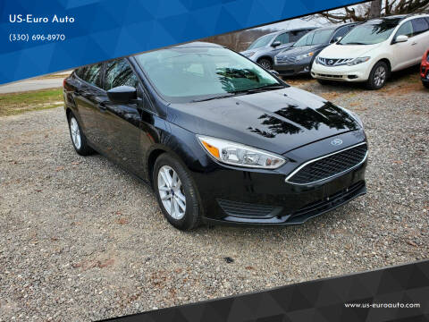2018 Ford Focus for sale at US-Euro Auto in Burton OH