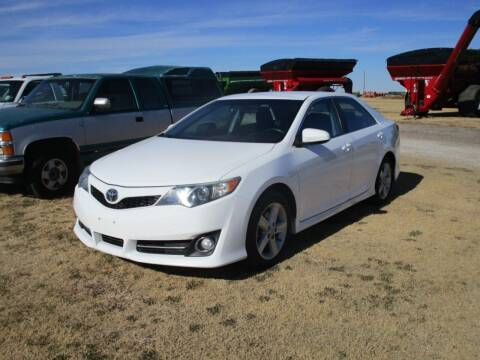 2012 Toyota Camry for sale at Bretz Inc in Dighton KS