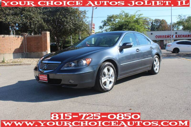 2008 Acura RL for sale at Your Choice Autos - Joliet in Joliet IL